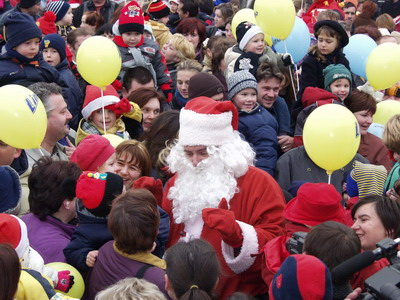 Djed Mraz u Koprivnici // Foto: Arhiva