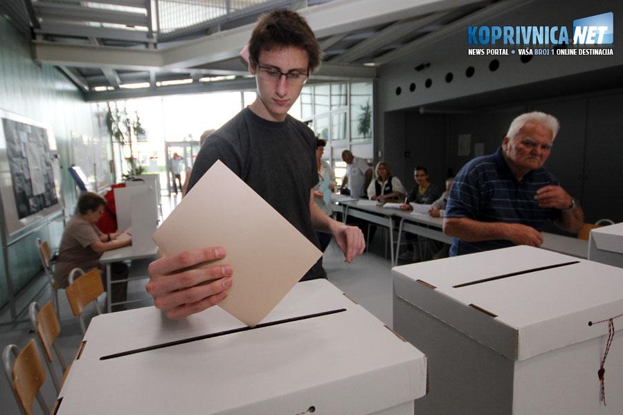 Glasovali smo na lokalnim izborima i na referendumu o braku // Foto: Koprivnica.net