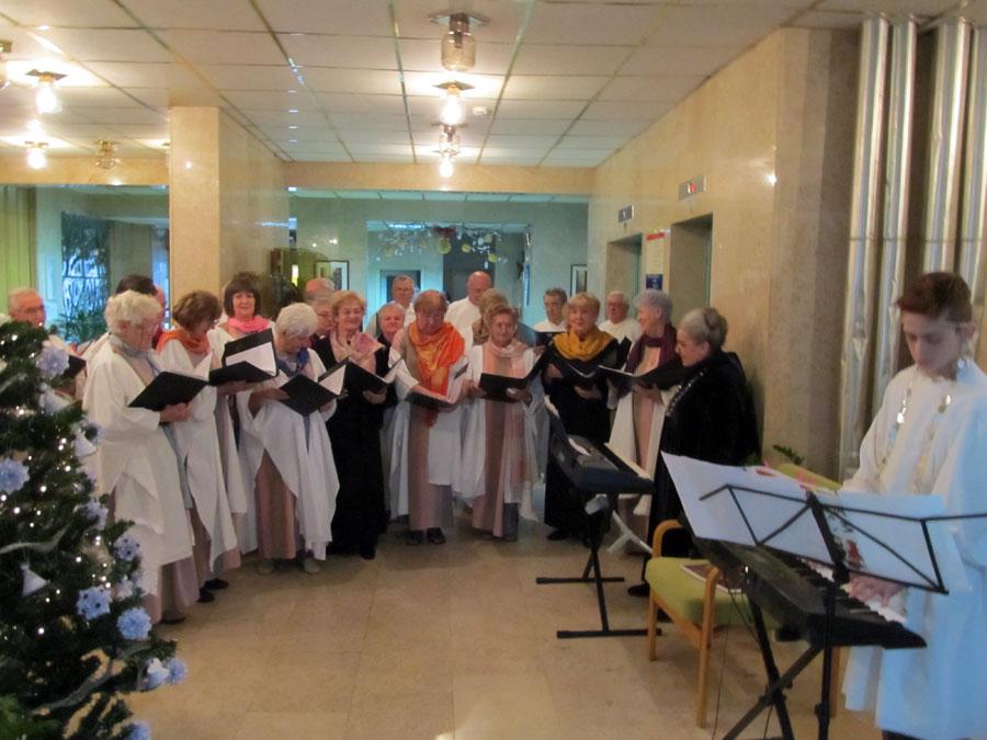 Nastup pjevačkog zbora
