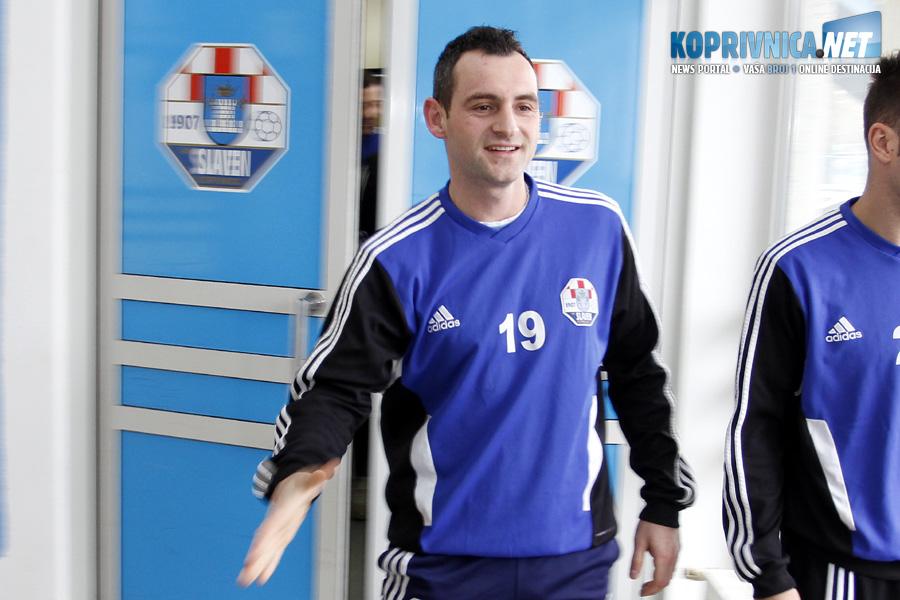 Vedran Celiščak vratio se u Slaven Belupo nakon 15 godina // Foto: Koprivnica.net