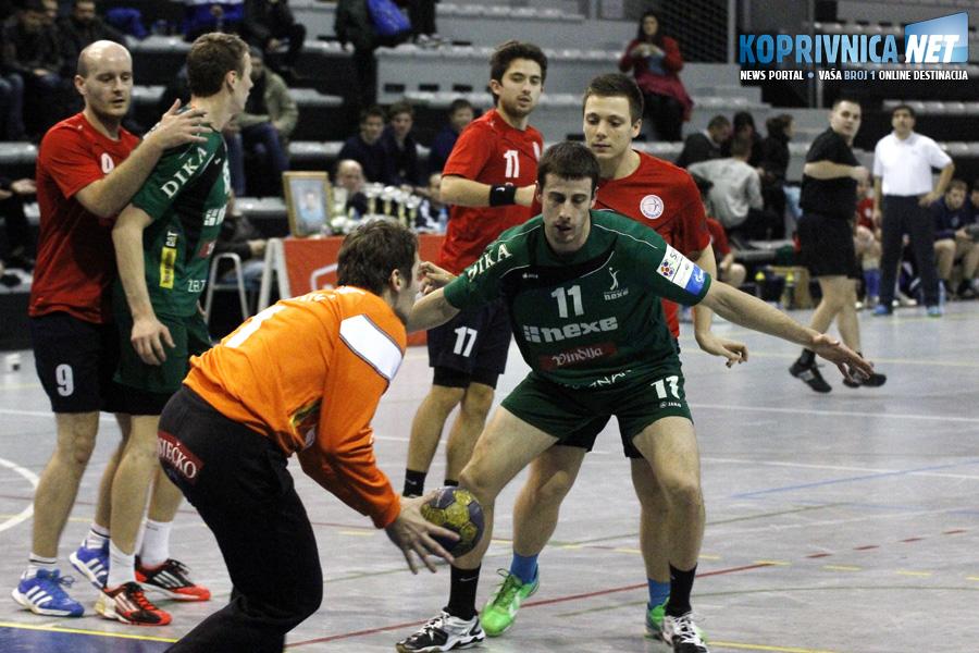 Detalj s utakmice Koprivnice i Nexea // Foto: Koprivnica.net