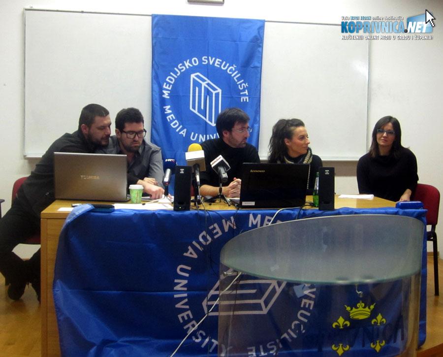 Novi portal predstavili su studenti Sveučilišta Sjever // Foto: Biljana Čičin-Mašansker