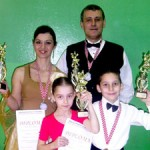 Neno Rojčević i Marina Tomac-Rojčević, Vinko Sabolić i Laura Krog // Foto: ŠPK Ritam