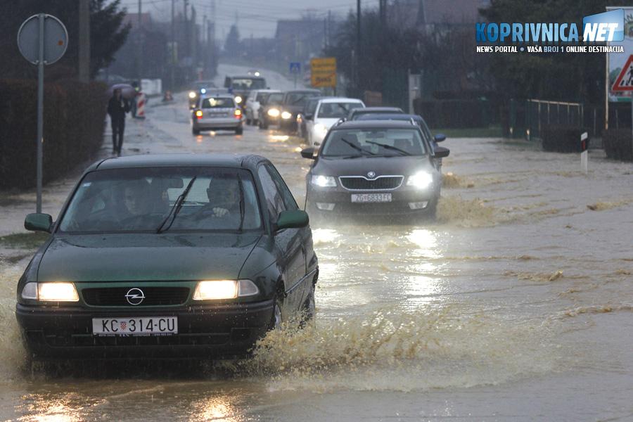 Poplava u Reki // Foto: Koprivnica.net