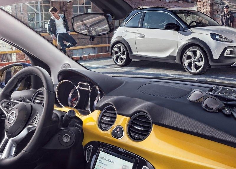 Opel Adam Rocks (2015) interijer