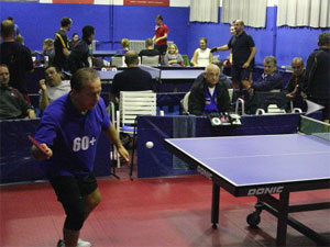 Detalj s natjecanja // Foto: Stolni tenis Koprivnica