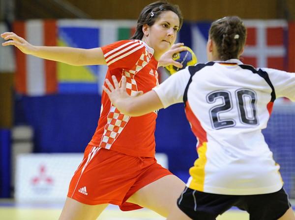 Rukometašica Podravke Ivana Dragišić članica je hrvatske juniorske reprezentacije // Foto: IHF