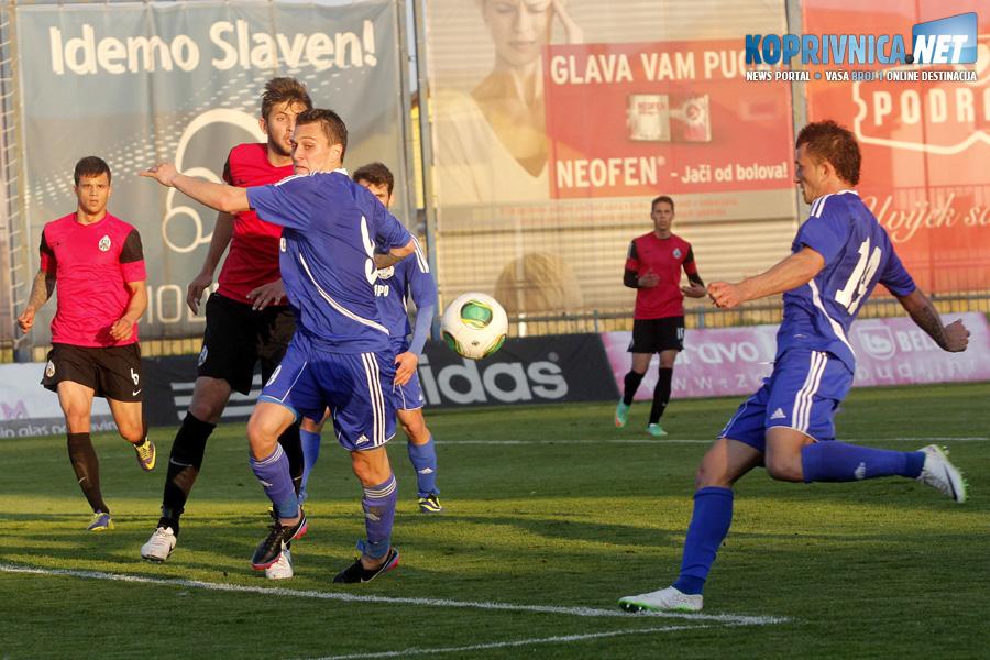 Na koprivničkom travnjaku vodila se velika bitka // Foto: Koprivnica.net