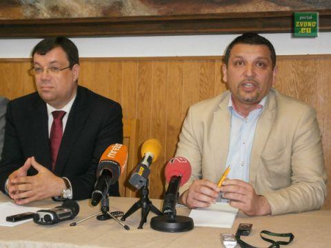 Damir Bajs i Željko Lacković // Foto: www.radio-koprivnica.hr