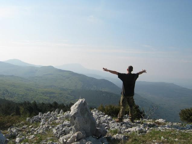 Matej Perkov na jednom od svojih putovanja