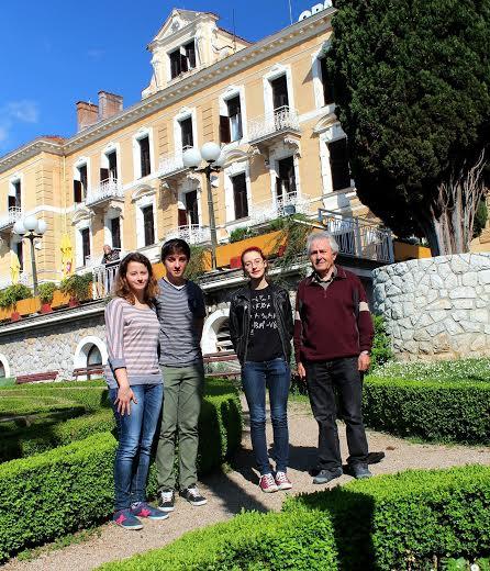 Astronomi iz Koprivnice s mentorom prof. Ljubomirom Carom