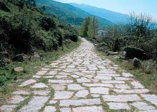 Ilustracija: Rimska cesta