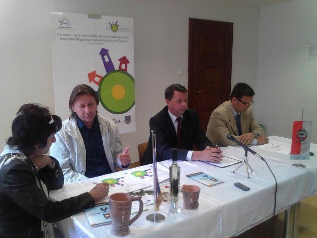 Detalj s konferencije za novinare u Nagykaniszi