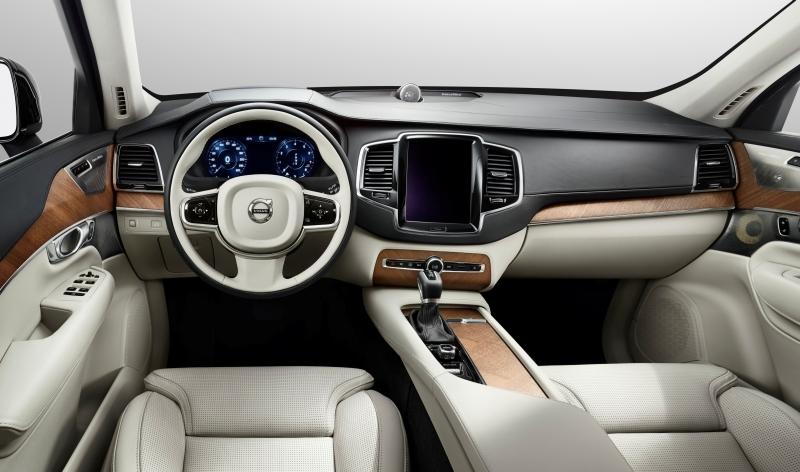 Volvo XC 90 interijer