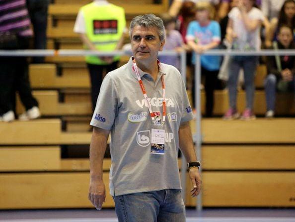 Goran Mrđen, trener Podravke Vegete // Foto: RK Podravka