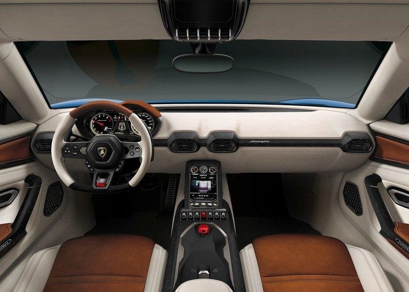 Lamborghini Asterion LPI 910-4 interijer