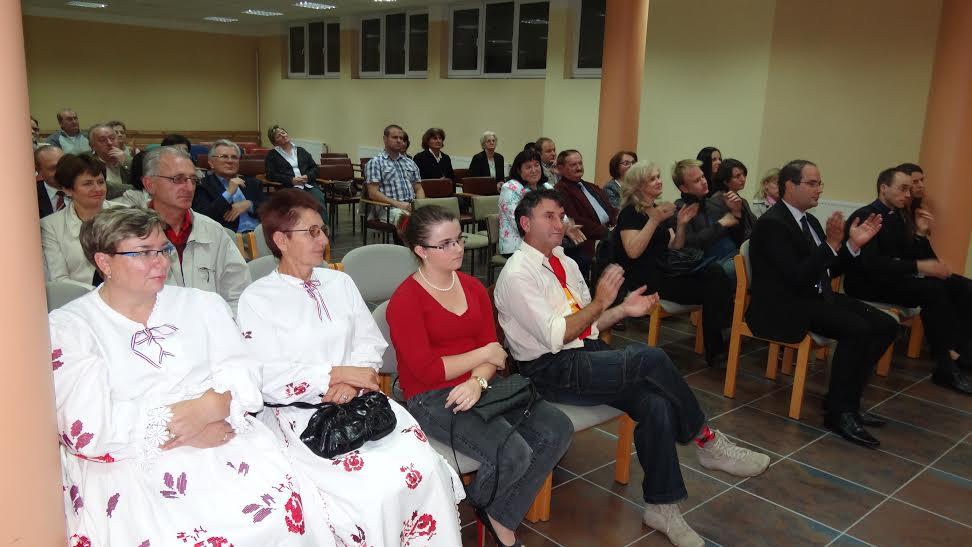 Publika na priredbi u Pastoralnom centru