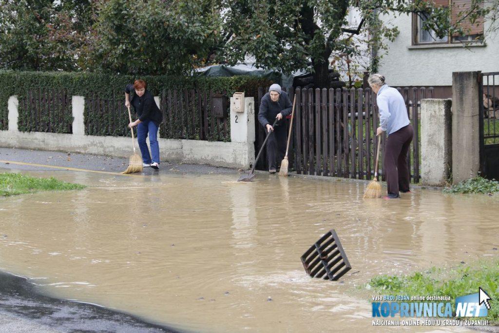 Poplava u Koprivnici // Foto: Mario Kos