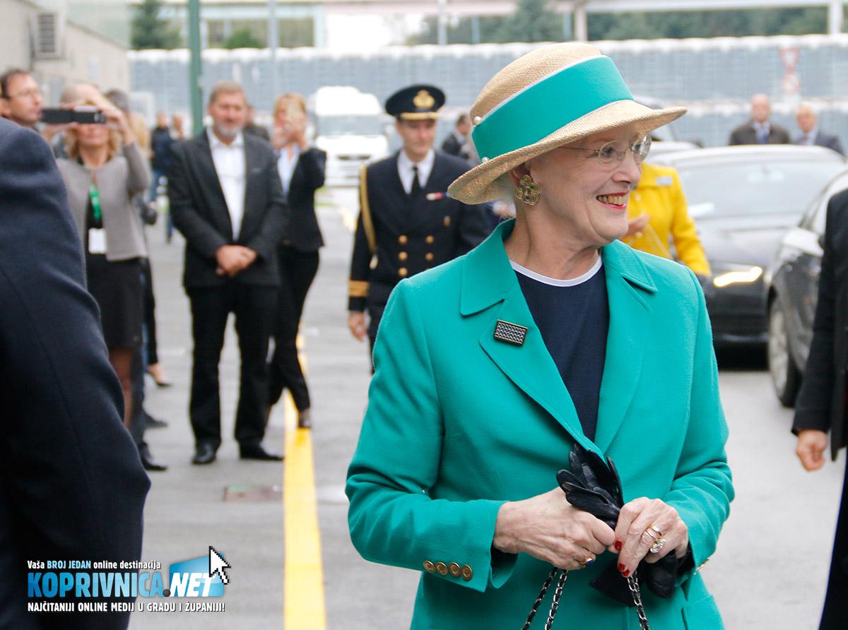 Kraljica Margareta u posjetu Carlsbergu // Foto: Mario Kos