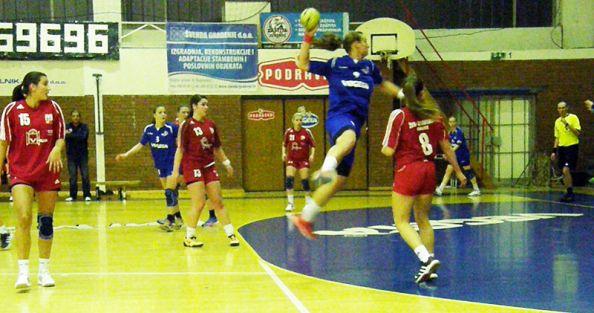 Detalj s utakmice Podravke i Zrinskog // Foto: RK Podravka - Ivo Čičin-Mašansker