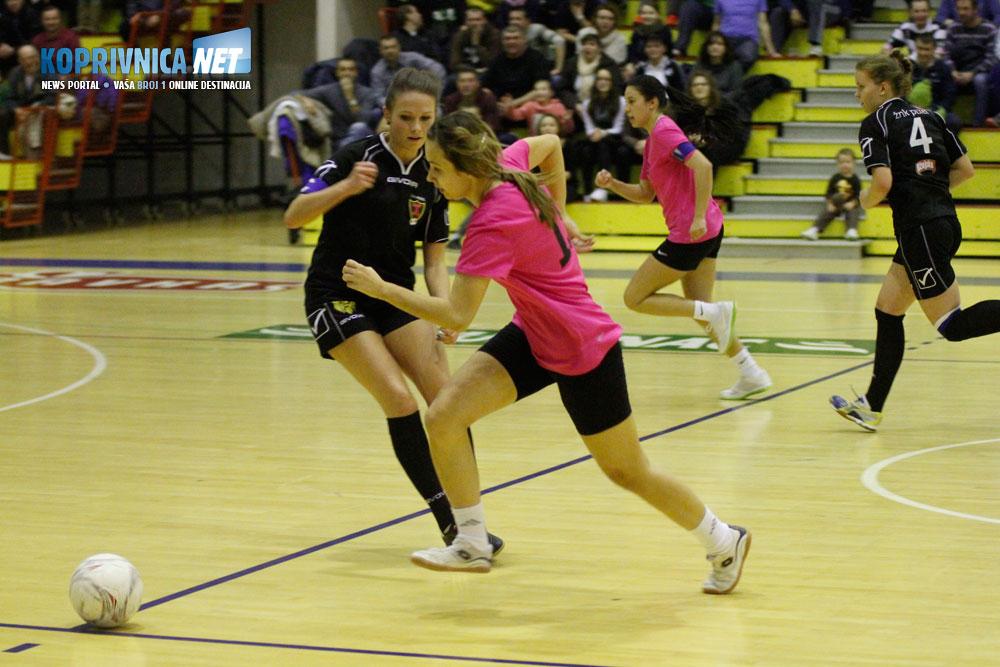 KKC Pixel (crni dresovi) više ne nastupa u KC ligi, a Drnje je jedan od favorita za osvajanje naslova // Foto: Koprivnica.net