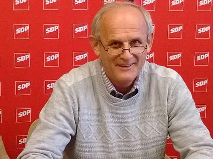 Ivan Majdak, predsjednik križevačkog SDP-a // Foto: SDP Križevci