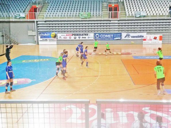 Detalj s utakmice u Varaždinu // Foto: RK Podravka