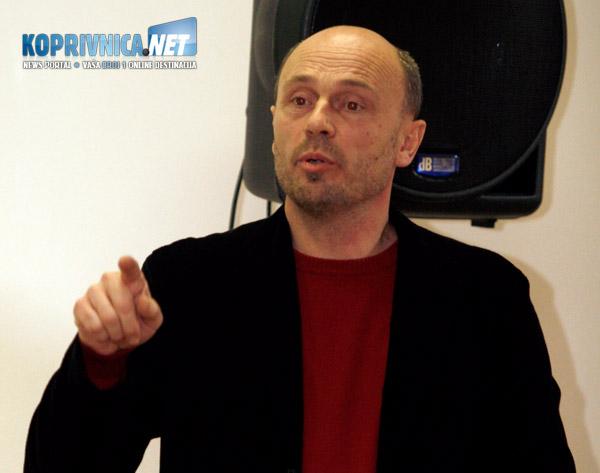 Milivoj Androlić, predsjednik koprivničko-križevačke županijske organizacije SDP-a