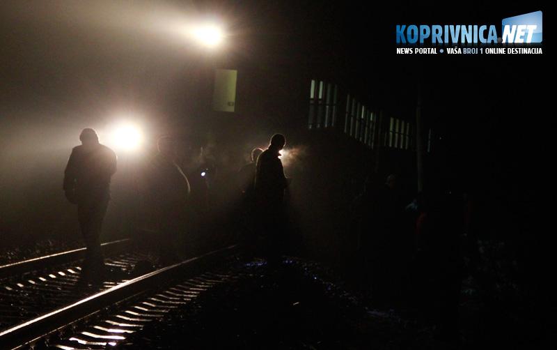 Sudar vlakova kod Lepavine // foto: Koprivnica.net