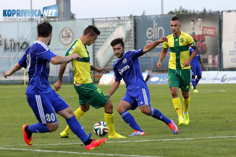 Detalj s prošle utakmice Slavena i Istre koja je u kolovozu 2014. završila 1:1