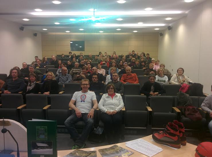 Publika na prezentaciji