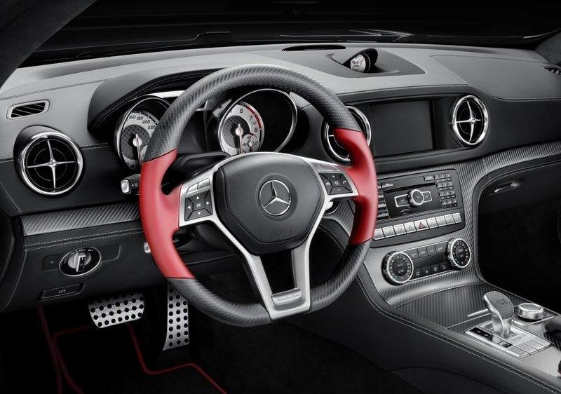 Mercedes-Benz SL Mille Miglia 417 Edition interijer