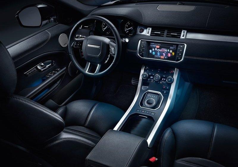 Land Rover Range Rover Evoque interijer