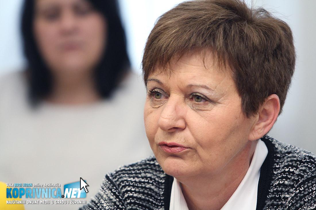 Vesna Želježnjak, SDP-ova gradonačelnica Koprivnice