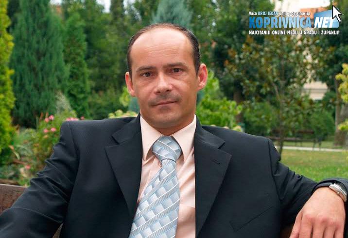 Ernest Forjan, predsjednik Gradskog odbora HDZ-a Koprivnice