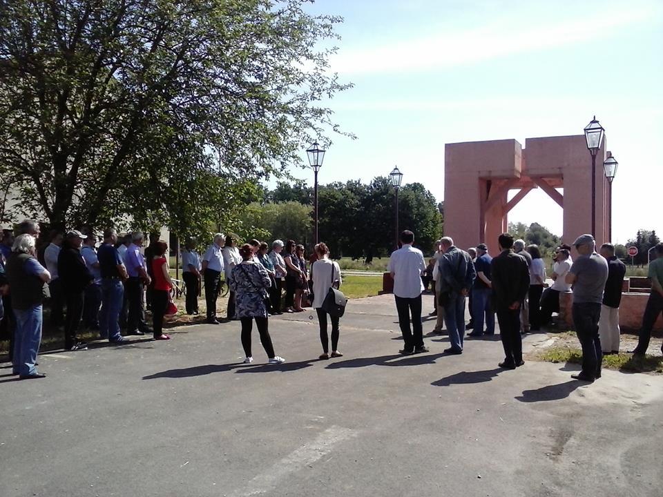 Obljetnica pobjede nad fašizmom na Spomen području Danica // Foto: Tanja Špoljar