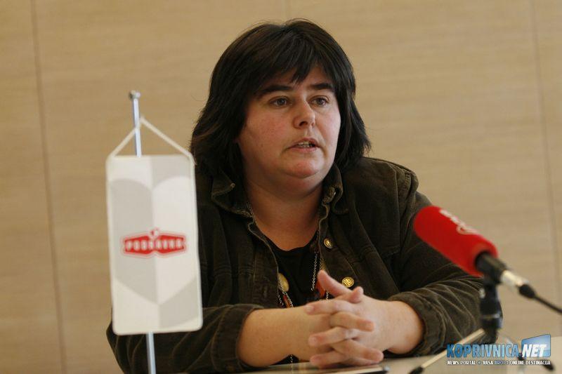 Ksenija Horvat, glavna sindikalna povjerenica PPDIV-a Podravke // Koprivnica.net