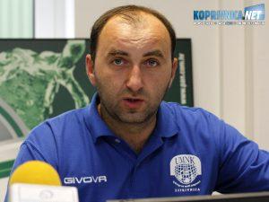 Trener juniora Slavena Belupa Sergej Milivojević // Arhiva Koprivnica.net