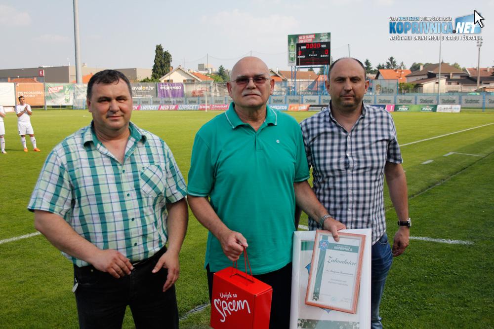 Slavko Tucaković, dr. Marijan Šurmanović i Goran Međurečan // Foto: Zvonimir Markač