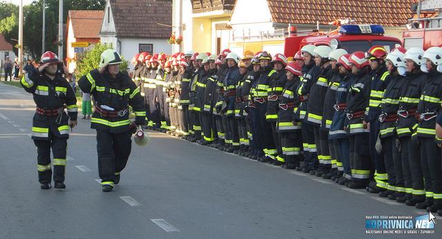 U velikoj akciji sudjelovalo je 120 vatrogasaca iz koprivničke Podravine