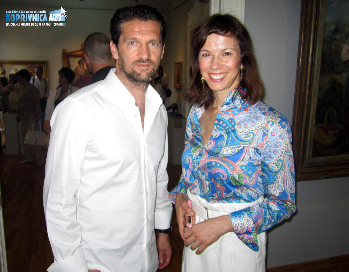 Davor Vugrinec i supruga Petra // Foto: Koprivnica.net