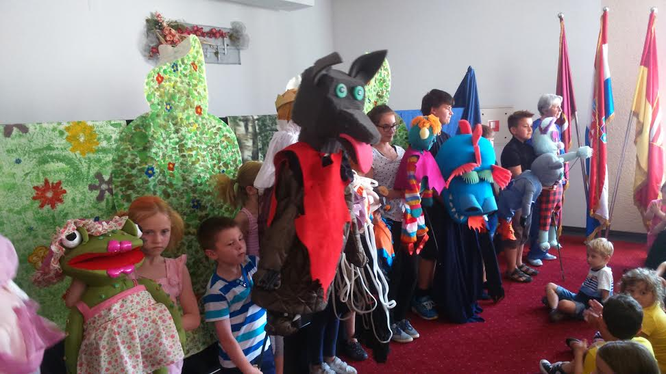 Mladi koprivnički glumci oduševili su publiku // Foto: DND Koprivnica