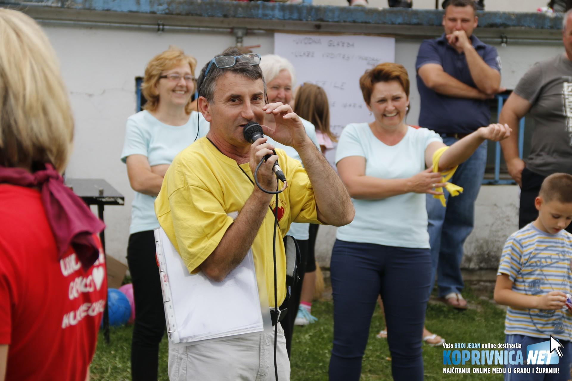 Program je vodio Siniša Cmrk // foto: Mario Kos