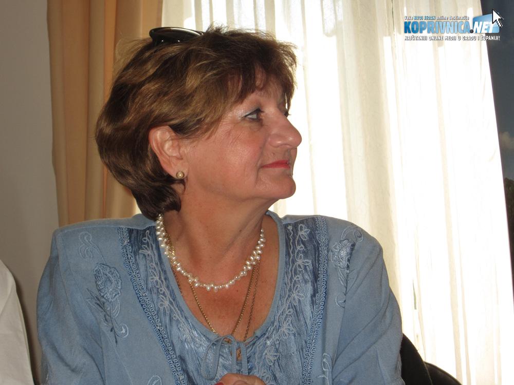 Nada Šešić, predsjednica Folklornog ansambla Koprivnica // Foto: Koprivnica.net