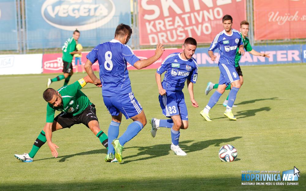 Marko Marciuš (23) zaigrat će na desnoj strani Slavenovog napada // Foto: Mario Kos