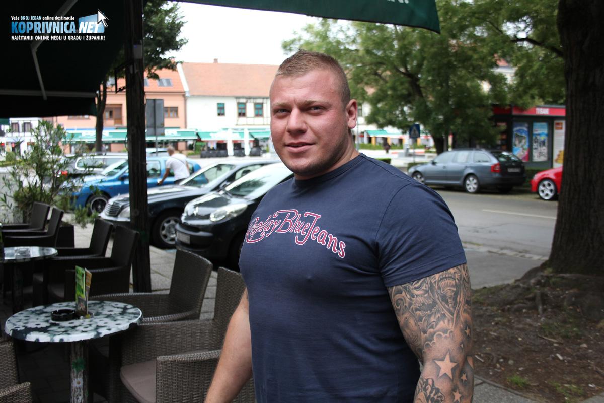 Dušan Popović, organizator natjecanja 'Strongman' u Koprivnici // Foto: Koprivnica.net