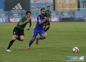 Muzafer Ejupi na utakmici Slavena Belupa i Lokomotive // Foto: Mario Kos