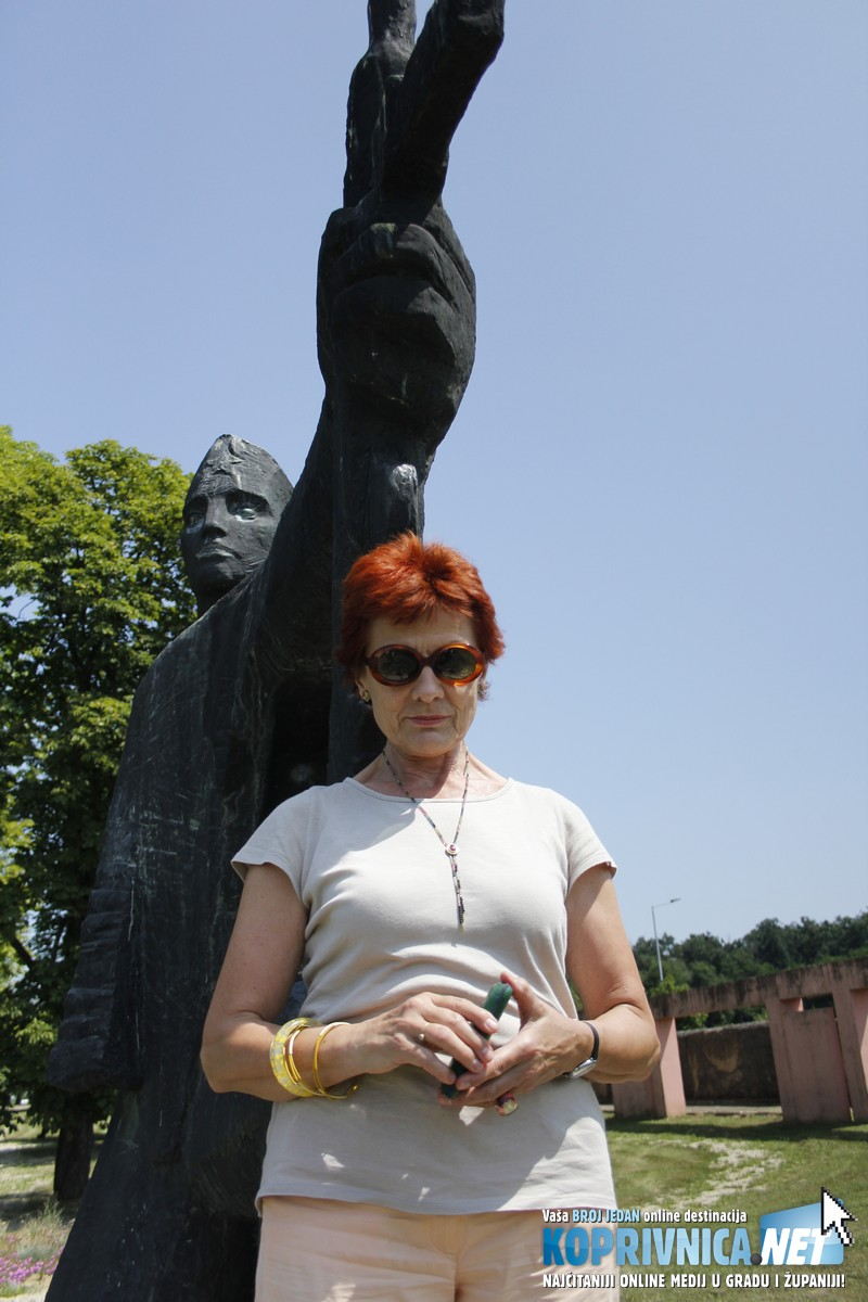 Smiljka Pavlović sama je fotografirala svoju prijateljicu // Smiljka Pavlović