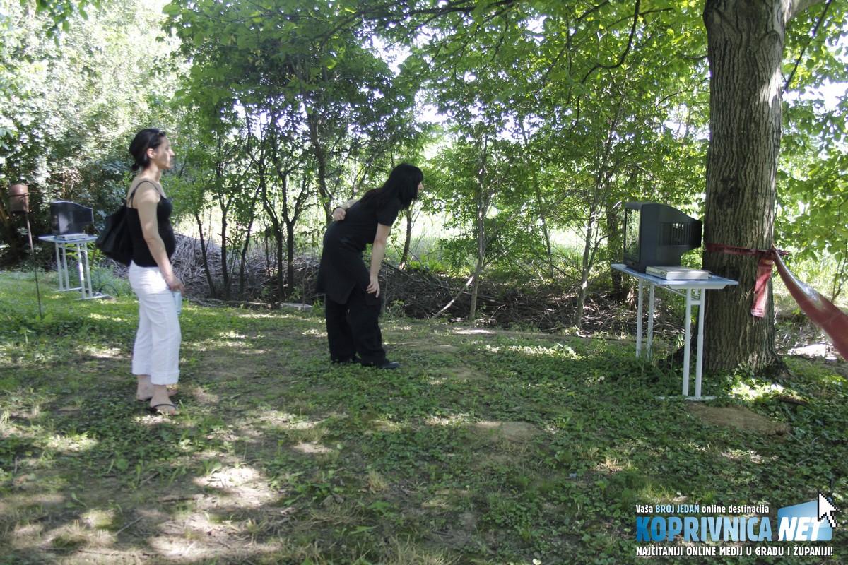 Televizori u prirodi zainteresirali su posjetitelje // Zvonimir Markač