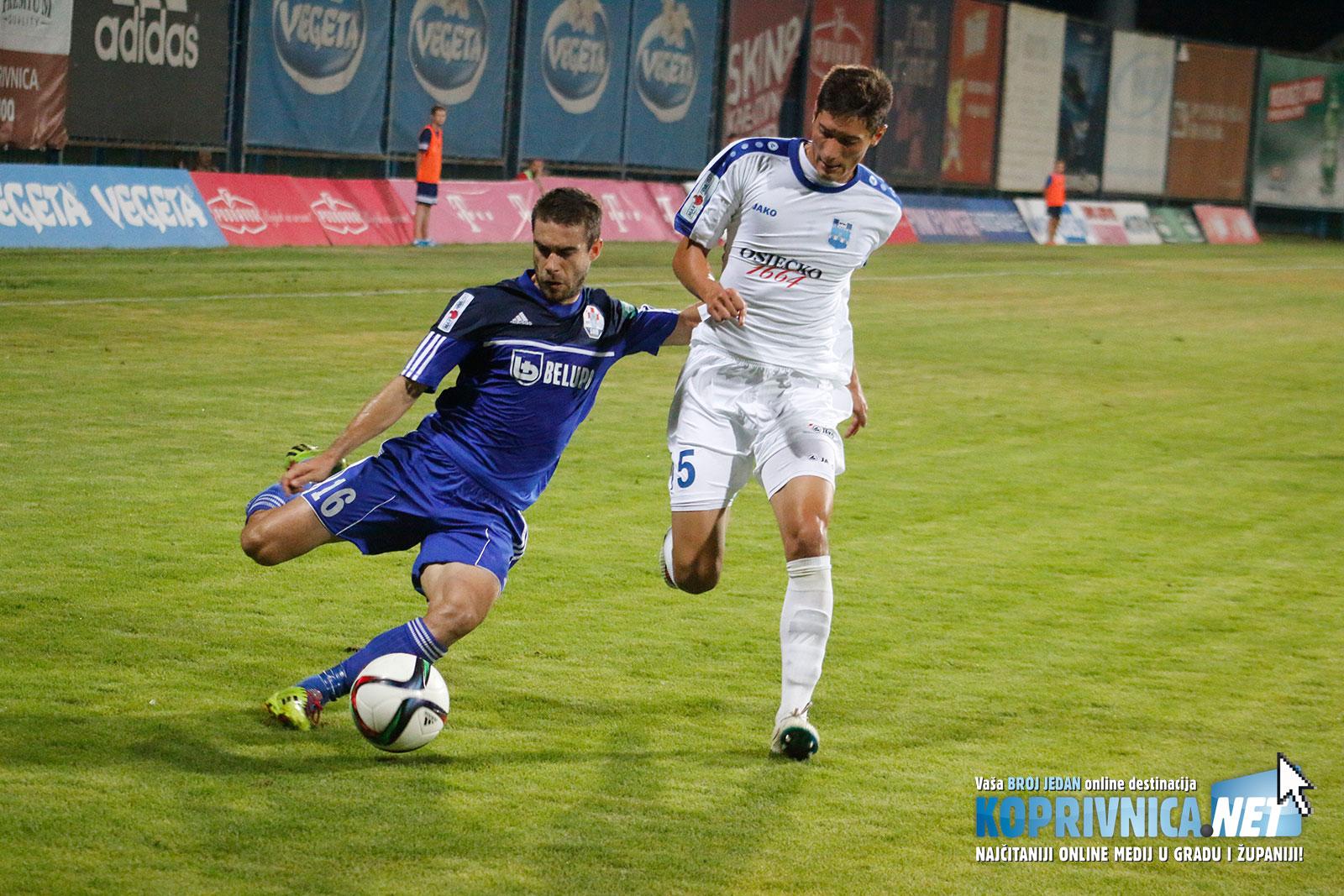 Vedran Purić odigrao je dopadljivo na desnom beku // Foto: Mario Kos